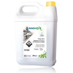 Dégraissant Ecolabel surfaces alimentaires Bidon de 5L