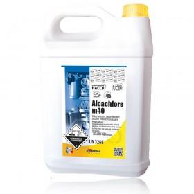 Alcachlore M40 dégraissant désinfectant chloré - actif sur coronavirus